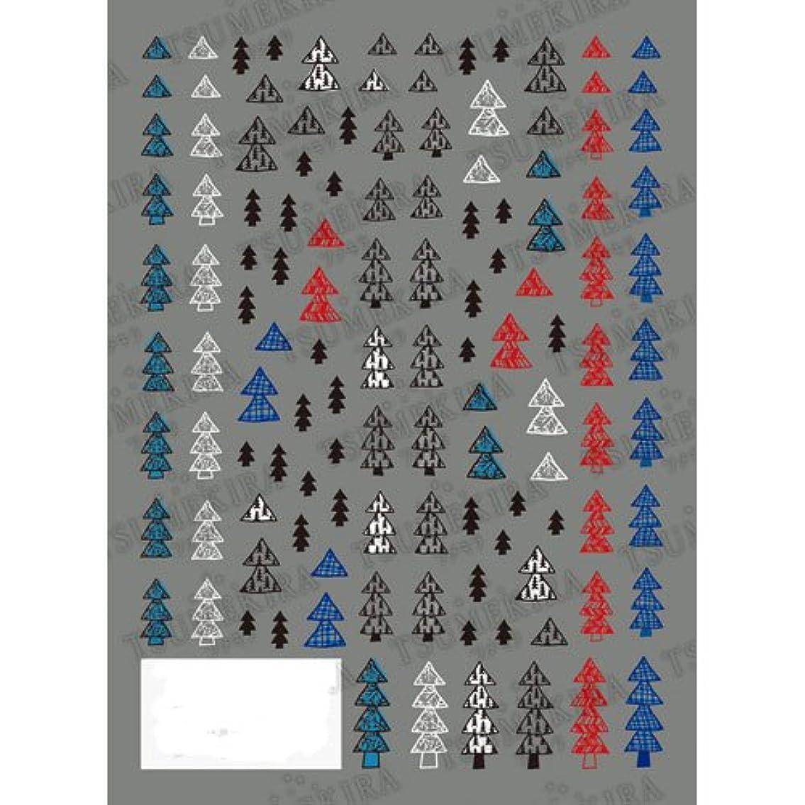 本会議立方体鳩TSUMEKIRA(ツメキラ) ネイルシール もみの木 NN-MMK-101