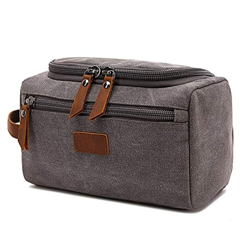 影響力のある操る給料化粧品袋 キャンバス化粧品バッグ男性旅行ポータブル化粧バッグ大容量必要な主催者トイレタリートイレタリーバッグ