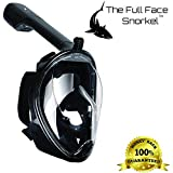 Snorkel Mask - Our Full face Snorkelling mask Set is a Specially Designed Snorkeling Gear for The sea by The Full Face Snorkel