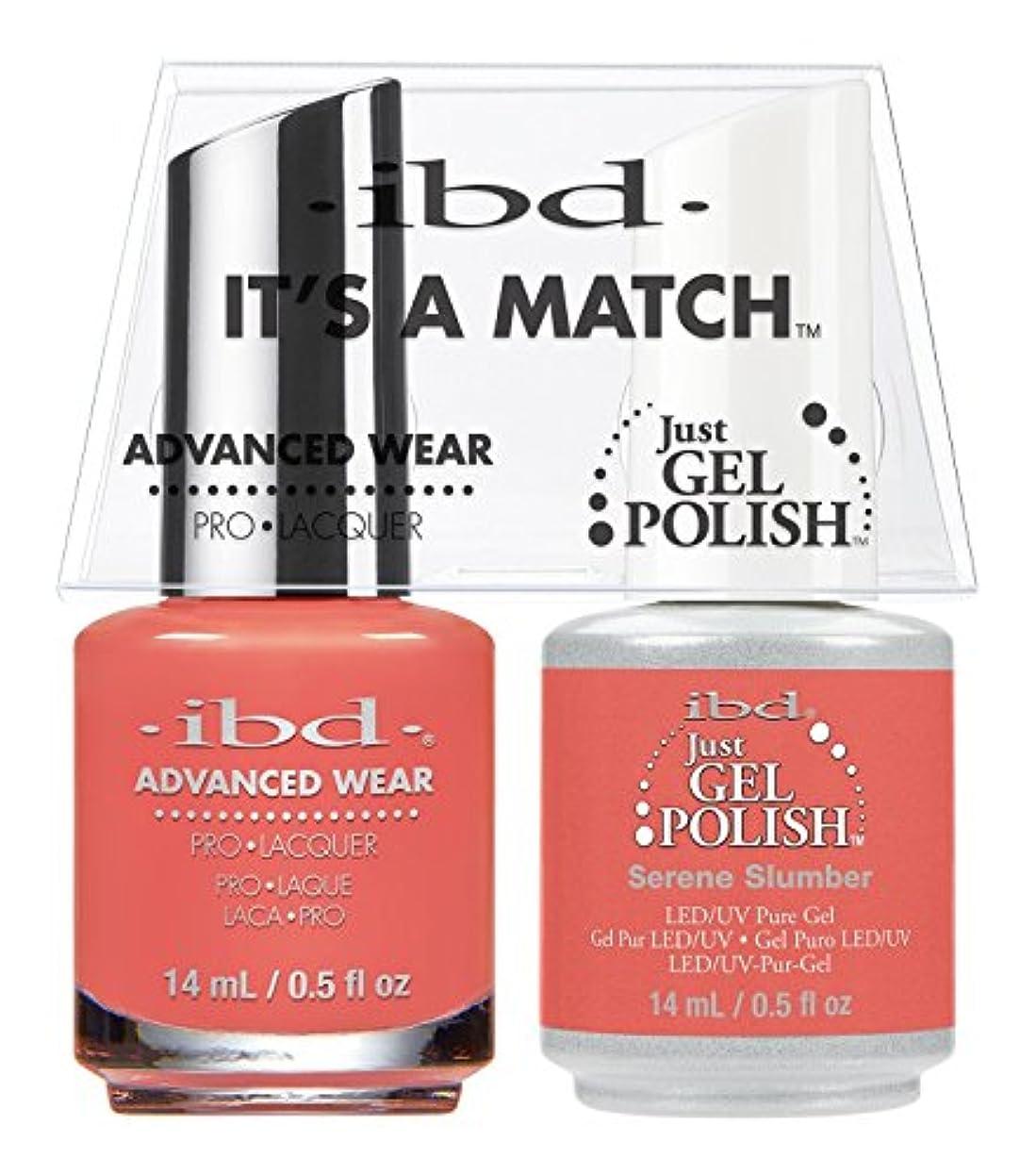 測る準備した唇ibd - It's A Match -Duo Pack- Serene Slumber - 14 mL / 0.5 oz Each