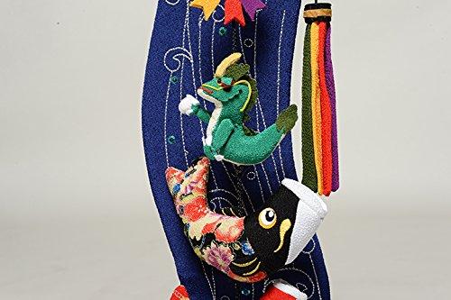 【五月人形】【室内鯉のぼり】室内鯉幟:登竜門伝説(特小)【つるし飾り】【こいのぼり】