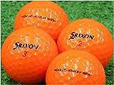 【Aランク】【ロゴなし】SRIXON(スリクソン) Z-STAR XV プレミアムパッションオレンジ 2015年モデル 20個セット 【ロストボール】