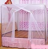 蚊帳 6畳 涼しく 快適 軽涼 メッシュ 赤ちゃん ベビー ベッド ムカデ 虫 防止 簡単 吊り下げ 220×200×300