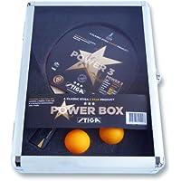 Stiga電源ボックス3テーブルテニスセット