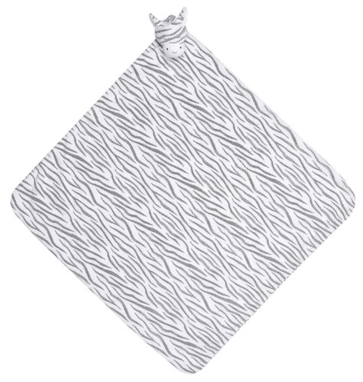 Angel Dear Napping Blanket, Grey Zebra by Angel Dear