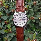 5b628b126a 位, 腕時計 機械式 メンズ BINLUN スタンダード 自動巻き 日付表示 本革バンド ウォッチ [並行輸入品]