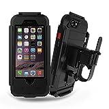 LoveBee(ラブビー)自転車 バイク用スマートフォンホルダー iPhone6 / iPhone6s 用 ハンドル マウントホルダー ケース 360度回転可能 タッチ/調節可能 耐衝撃 防水カバー シールド 【並行輸入品】