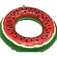 夏だ プールだ 西瓜 スイカ 浮き輪 80cm