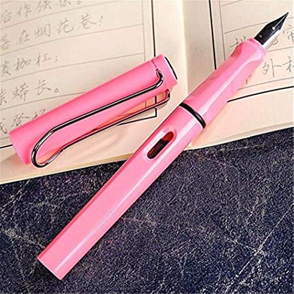 軸集まるお気に入り七里の香 ミリメートルストレートペン先のインクリフィル万年筆、ブラックゴールドトーン …