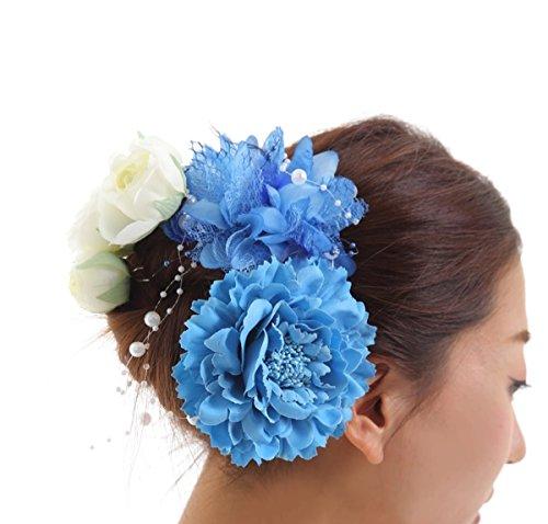MedianField 髪飾り 4点セット ヘアアクセサリー...