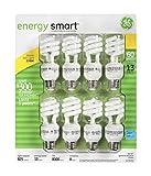 GE 13-wattエネルギースマート蛍光灯ライト電球、8パック、60ワット交換用 8 Pack ホワイト 31064 1