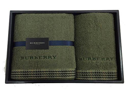 バーバリー BURBERRY ウォッシュタオルx1(34x35...