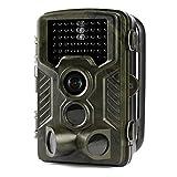 Aidodoトレイルカメラ 防犯カメラ 暗視カメラ 赤外線カメラ1200万画素 高画質 IP56防水仕様 HDデジタル 不可視赤外線 動体検知 人体感知 人感センサー アウトドア活動の記録 家庭用 動物撮影 野外監視カメラ