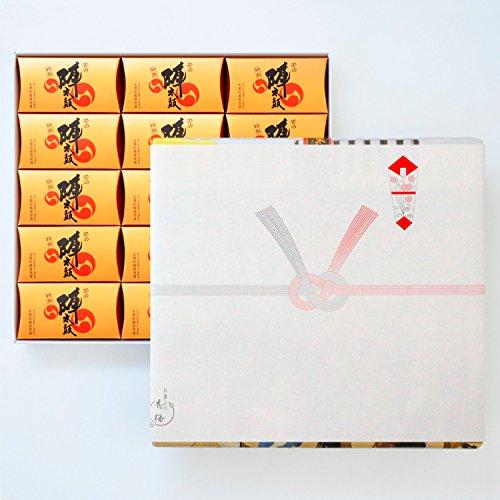 お菓子の香梅 特製誉の陣太鼓30個入 スイーツ 1150g 紅白結び切り(のしあり)