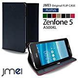 Zenfone5 A500KL カバー JMEIオリジナルフリップケース PLUTUS ネイビー ASUS ゼンフォン 5 エイスース simフリー スタンド機能付き スマホカバー スマホケース スリム スマートフォン