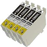 【ブラック増量版】ICBK69L 4本 ハイグレードタイプ 69BKL 4本 EPSON エプソン 互換 インク 残量表示可能 対応機種:PX-045A PX-046A PX-105 PX-405A PX-435A PX-436A PX-505F PX-535F