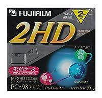 3.5インチ2HDフロッピーディスク2枚パック FUJIFILM MF2HDPC NK2T