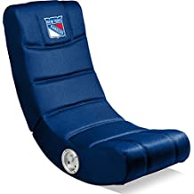 Imperial Officially Licensed NHL Furniture: Ergonomic Video Rocker Gaming Chair with Bluetooth