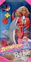 Baywatchバービー人形with Dolphin &アクセサリー1994by Mattel [並行輸入品]