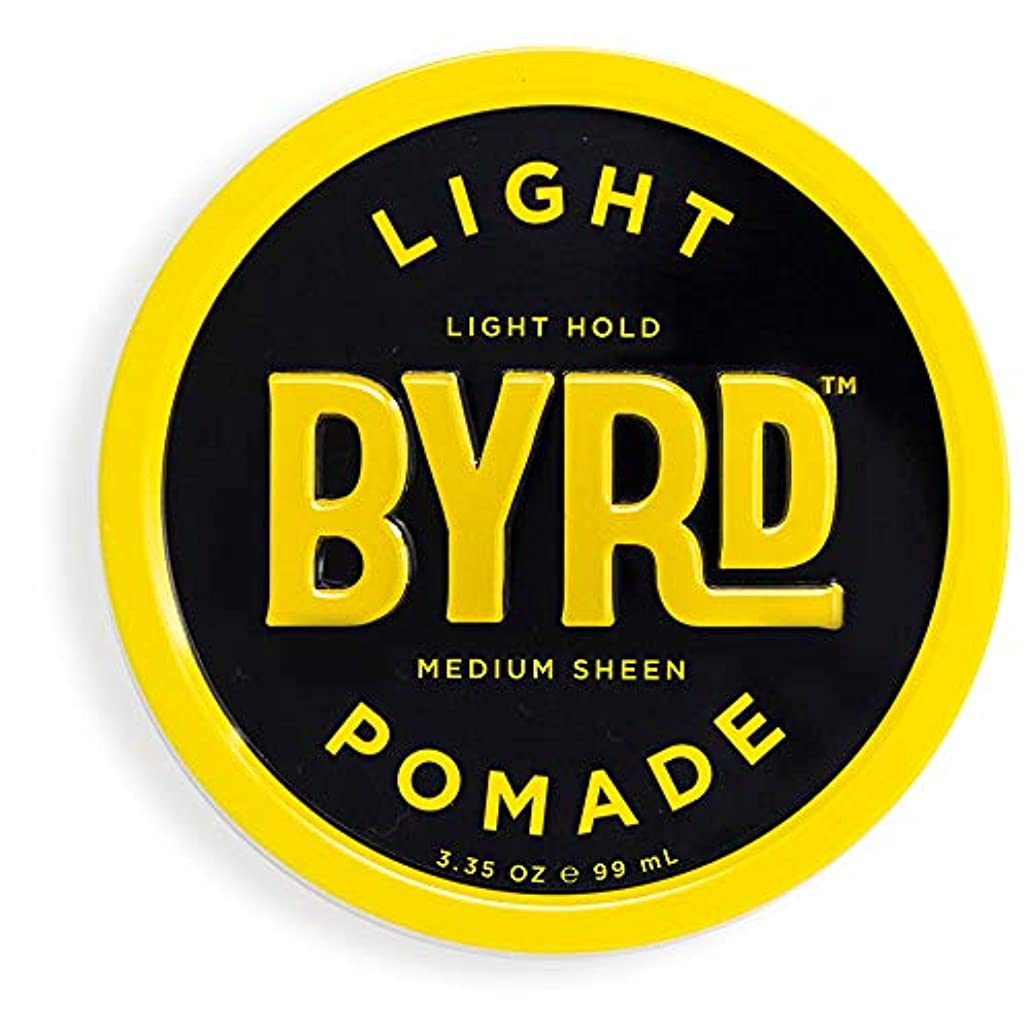 なめらかなふりをする単調なBYRD(バード)  ライトポマード 70g