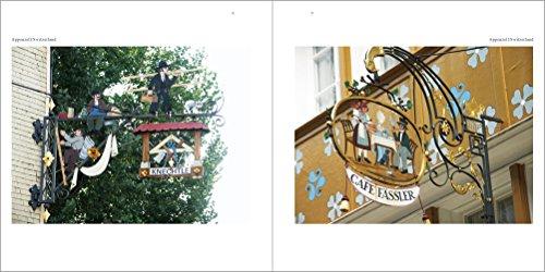 ヨーロッパの看板 お気に入りの街角