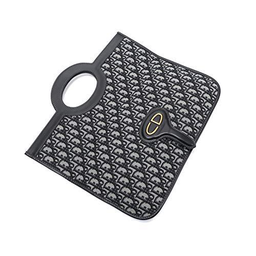 Dior(ディオール) クラッチバッグ 2WAY 手提げ ロゴデザイン 軽量 DIOR OBLIQUE CANVAS CLUTCH [並行輸入品]