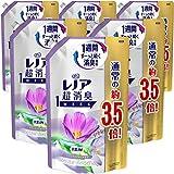 【ケース販売】レノア 超消臭1WEEK 柔軟剤 リラックスアロマ 詰め替え 約3.5倍(1390mL)×6袋