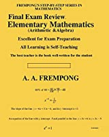 Final Exam Review: Elementary Mathematics