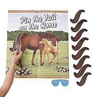 Fun Express Pin The Tail On The Horse Game Set By Fun Express 【You&Me】 [並行輸入品]