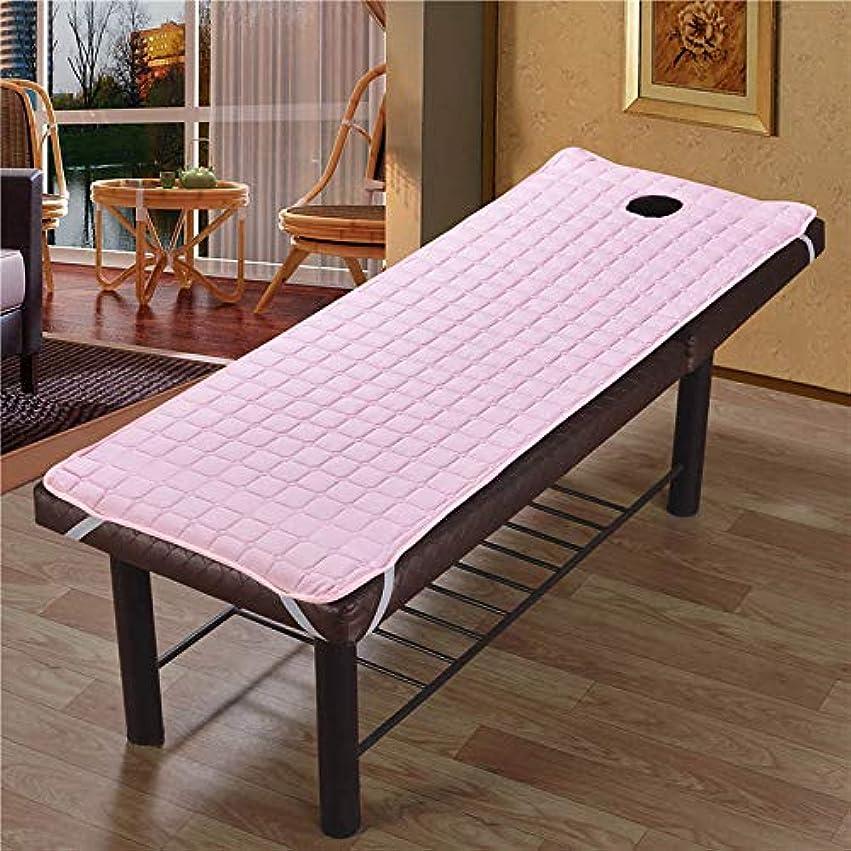 曲線慈善へこみProfeel 美容院のマッサージ療法のベッドのための滑り止めのSoliod色の長方形のマットレス