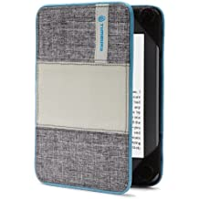 Timbuk2 フリップスタージャケットカバー(軽量かつ耐久性のある保護機能つき)、グレー/コールドブルー(Kindle Paperwhite専用)