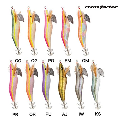 FACTOR) クロスファクター(CROSS FACTOR) エギ イカエギAX 3.0号 KSAX100-3.0-KS KS