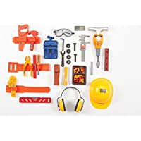 Complete電源ツールBaby Boy Toy Setリアルコンストラクションサウンド&振動モーター制御Jackhammer