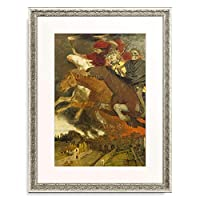 アルノルト・ベックリン Arnold Böcklin 「War. 1896」 額装アート作品