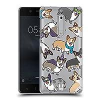 Head Case Designs コーギー ドッグブリード・パターン ハードバックケース Nokia 5