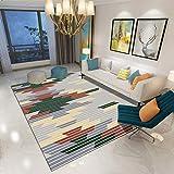 ラグマット 黄緑リビングラグ 160*230cm シンプルモダンな幾何学的な格子敷物リビングルームのコーヒーテーブルの寝室のベッドサイドホームスタディ北欧スタイルのエントリーマット長正方形シンプル01シンプル02シンプル03シンプル04シンプル05シンプル06シンプル07シンプル08シンプル09シンプル10シンプル11シンプル12シンプル13シンプル14シンプル15シンプル16サイズシンプル01シンプル02シンプル03シンプル04シンプル05シンプル06シンプル07シンプル08シンプル09シンプル10シンプル11シンプル12シンプル13シンプル14シンプル15シンプル16サイズ