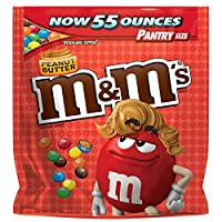 M&M's Peanut Butter Pantry Size Bag (55 oz.) [並行輸入品]