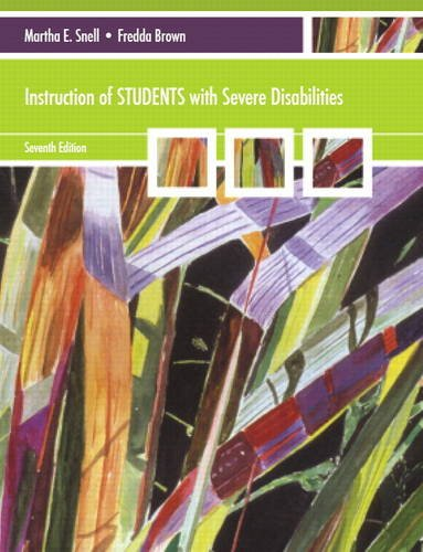 Download Instruction of Students with Severe Disabilities 0137075464