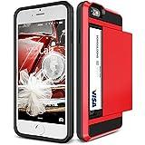 iPhone6s / iPhone6 ケース VERUS Damda Slide カードケース 搭載 プラスチック + TPU ハードケース for Apple iPhone 6s / iPhone 6 4.7 インチ クリムゾンレッド 【国内正規品】 国内正規品証明書 付