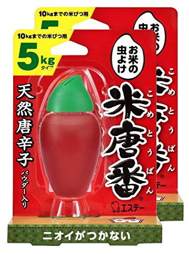 【まとめ買い】 米唐番 米びつ用防虫剤 5kgタイプ 25g×2個...