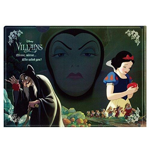 ディズニー ヴィランズ ギミッククリアファイル(女王/白雪姫)