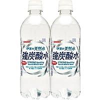サンガリア 伊賀の天然水 強炭酸水 プレーン 500ml×48本