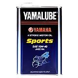 ヤマハ(YAMAHA) 二輪車用エンジンオイル ヤマルーブ スポーツ 10W-40 MA 部分合成油 4サイクル用 1L 90793-32145 [HTRC3]