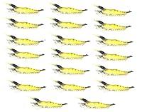 【オルルド釣具】ソフトシュリンプワーム(エビワーム) 約9.5cm 3g 20個セット ソフトルアー 海老ワーム 子供や餌のつけられない女性に最適 落とし込みでのタイ狙いなど 探り釣り ブラックバス・シーバスなどにも最適 ブラックヘッド&ブラックテイル 頭尻尾黒 20個 qb100060a21n0