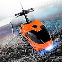 inverlee Flying Mini RC Infraed誘導ヘリコプター航空機点滅ライトおもちゃA Good Gift For Kids