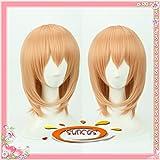 耐熱コスプレウィッグ ご注文はうさぎですか ココア / 保登 心愛 ほと ここあ cosplay wig 専用ネット付sunshine onlineが販売