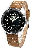 1291 腕時計 スイスブランド 自動巻き 42mm 5ATM NATOストラップ付き MILITARY 1291MB [並行輸入品]