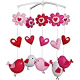 Colorful Bird Baby Mobile Crib Mobile Musical Mobile Baby Gift Baby Bed Decoration