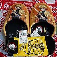 アベイル×鬼滅の刃コラボ我妻善逸 モップつきスリッパ&靴下セット anime グッズ