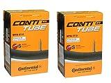 2本セット コンチネンタル Continental MTB 仏式チューブ 27.5x1.75-2.5(47-584/62-584) バルブ長42mm [並行輸入品]